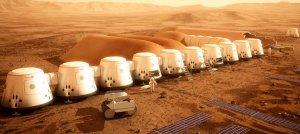 Элон Маск намерен основать колонию на Марсе (Г)