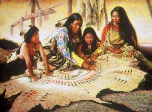 Песчаная магия индейцев навахо