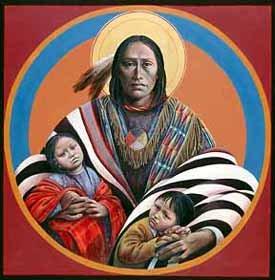 Иконы для индейцев