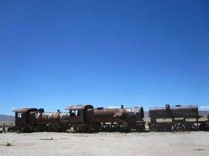 Кладбище поездов Уюни
