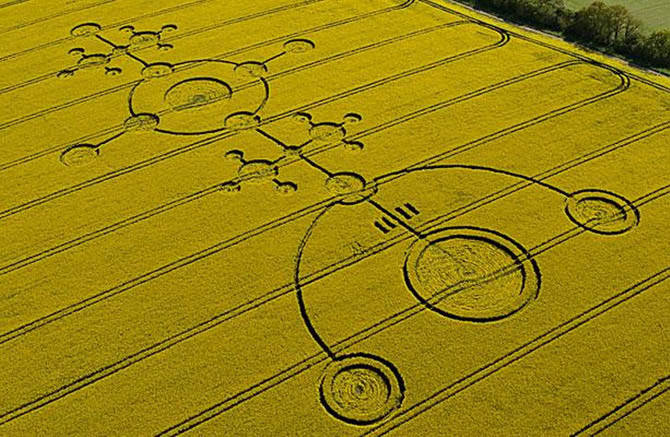 рисунки на полях фото