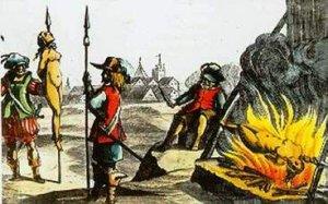 Зажаривание живьем на вертеле