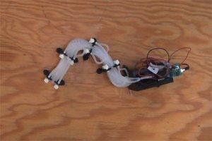 Для помощи при завалах создан робот-змея
