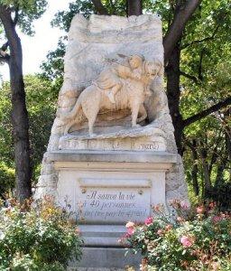 Собачье кладбище в Париже