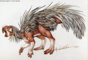 Молодые динозавры бегали на четырёх ногах