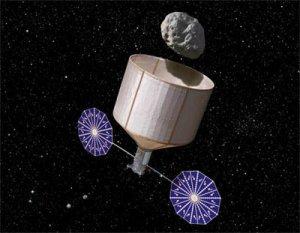 Миссия по захвату астероида может провалиться