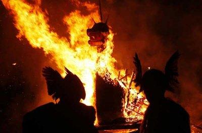 Погребальные обряды викингов