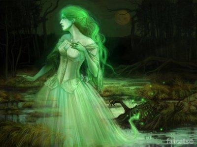 Призрак Зеленой Леди